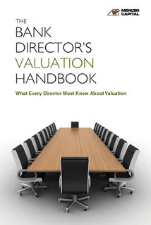 Cover for Web - The Bank Director's Valuation Handbook